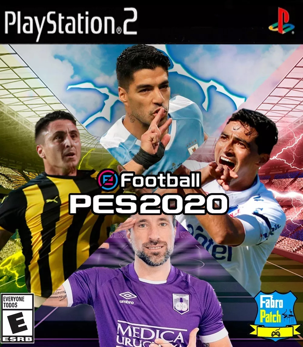 Pes 20 Fútbol Uruguayo Ps2 Fabropatch